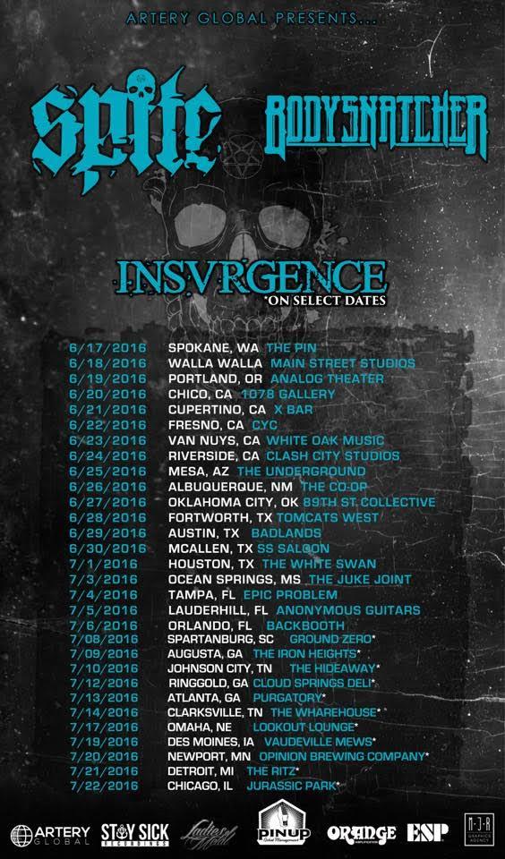 Spite Tour (2016)