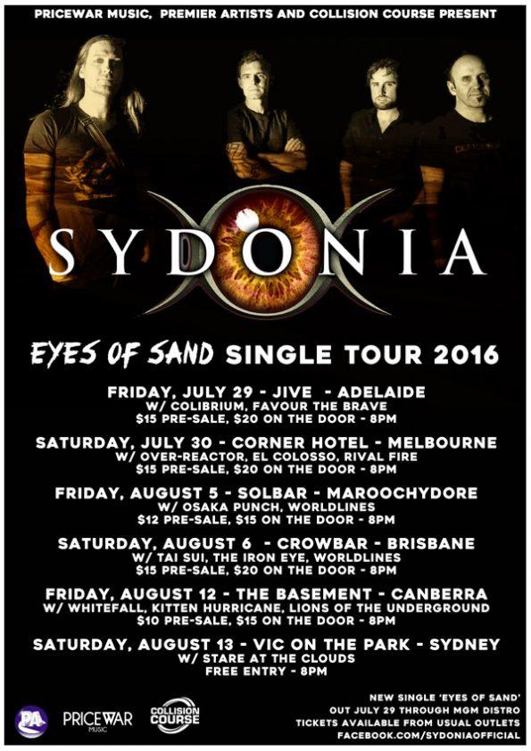 Sydonia - Tour