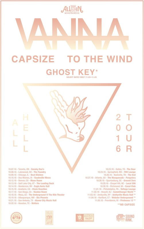 Vanna - All Hell Tour (2016)