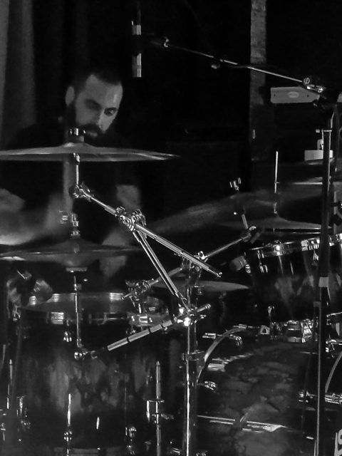 Matt St. Jean, drummer of Astronoid.