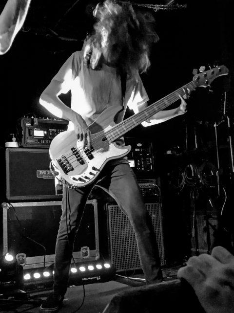 Dan Schwartz, bassist of Astronoid.